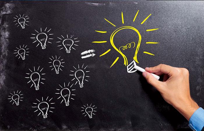 Có ý tưởng và sáng tạo