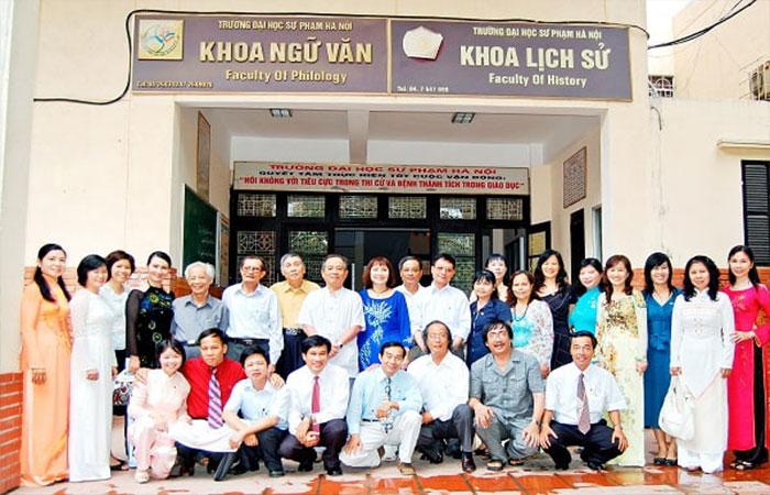 Người nổi tiếng từng học tại Sư Phạm Hà Nội