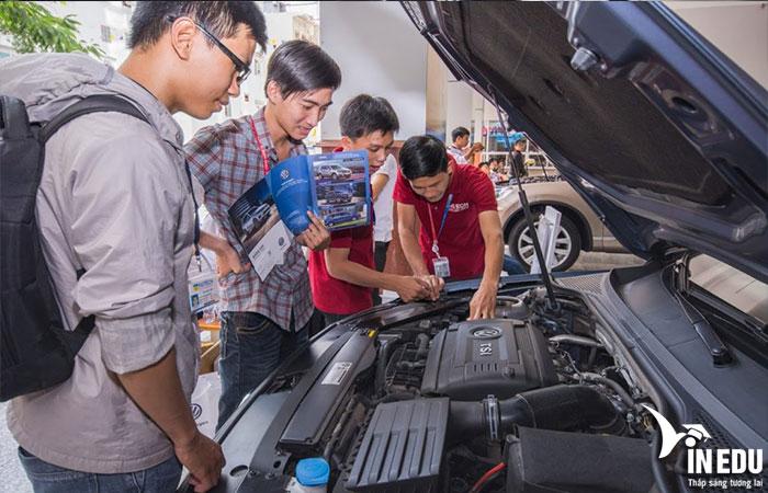 Danh sách các trường đào tạo ngành công nghệ kỹ thuật ô tô